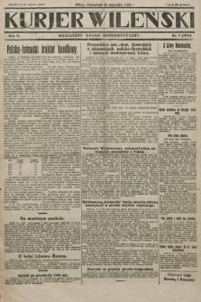 Kurjer Wileński : niezależny organ demokratyczny. 1928, nr9