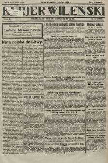 Kurjer Wileński : niezależny organ demokratyczny. 1928, nr37