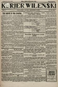Kurjer Wileński : niezależny organ demokratyczny. 1928, nr140