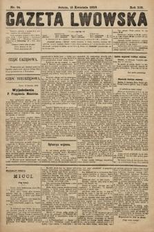 Gazeta Lwowska. 1918, nr84
