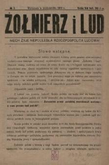 Żołnierz i Lud. 1919, nr3