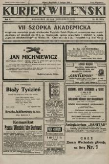 Kurjer Wileński : niezależny organ demokratyczny. 1928, nr34