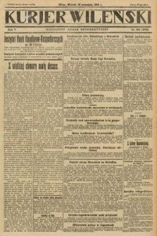 Kurjer Wileński : niezależny organ demokratyczny. 1928, nr213
