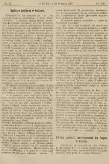 Gmina : tygodnik poświęcony interesom gmin i rad powiatowych. 1907, nr17
