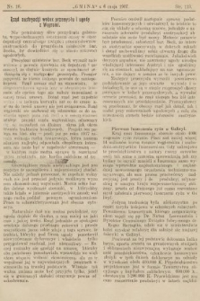 Gmina : tygodnik poświęcony interesom gmin i rad powiatowych. 1907, nr18