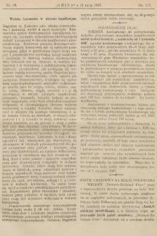 Gmina : tygodnik poświęcony interesom gmin i rad powiatowych. 1907, nr19