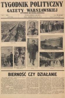 Tygodnik Polityczny Gazety Warszawskiej : wychodzi na każdą niedzielę. 1935, nr5