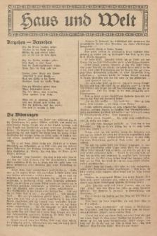 Haus und Welt. [1927], [nr32]