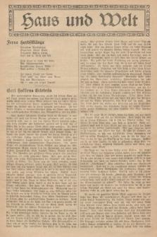Haus und Welt. [1927], [nr37]