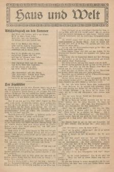Haus und Welt. [1927], [nr38]