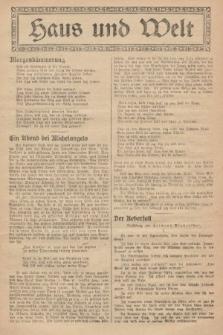 Haus und Welt. [1927], [nr42]