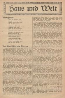 Haus und Welt. [1927], [nr44]