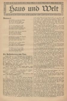 Haus und Welt. [1927], [nr49]
