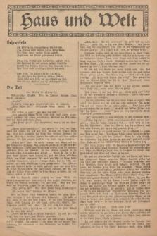 Haus und Welt. [1927], [nr51]