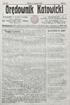 Orędownik Katowicki. 1919, nr15