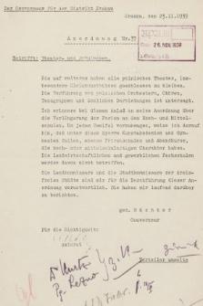 Anordnung. 1939, nr37