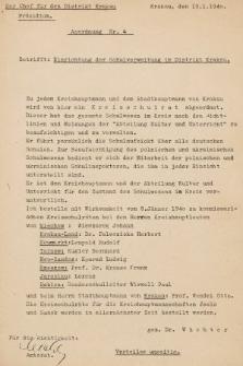 Anordnung. 1940, nr4