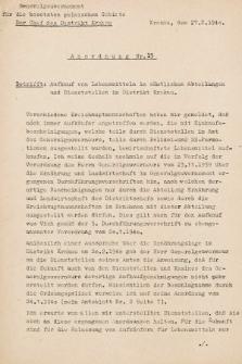 Anordnung. 1940, nr15