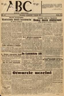 ABC : nowiny codzienne. 1937, nr4
