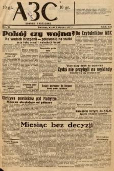 ABC : nowiny codzienne. 1937, nr5