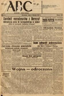 ABC : nowiny codzienne. 1937, nr6