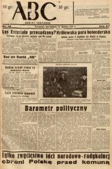 ABC : nowiny codzienne. 1937, nr12