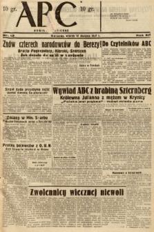 ABC : nowiny codzienne. 1937, nr13