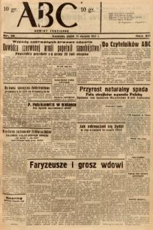 ABC : nowiny codzienne. 1937, nr16