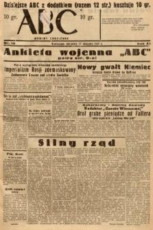 ABC : nowiny codzienne. 1937, nr18