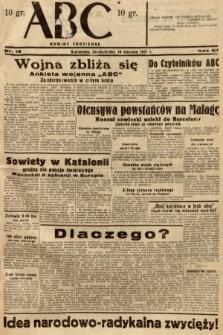 ABC : nowiny codzienne. 1937, nr19