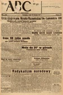 ABC : nowiny codzienne. 1937, nr22