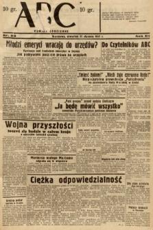 ABC : nowiny codzienne. 1937, nr23