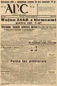 ABC : nowiny codzienne. 1937, nr27
