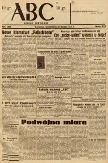 ABC : nowiny codzienne. 1937, nr28