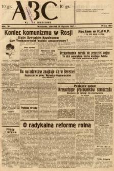 ABC : nowiny codzienne. 1937, nr31