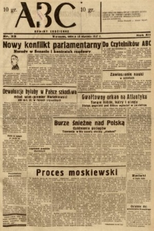 ABC : nowiny codzienne. 1937, nr33
