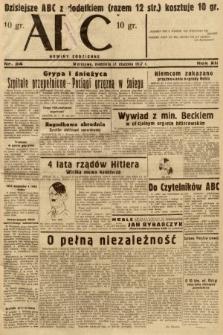ABC : nowiny codzienne. 1937, nr34