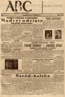 ABC : nowiny codzienne. 1937, nr48 [ocenzurowany]
