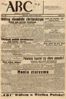 ABC : nowiny codzienne. 1937, nr51
