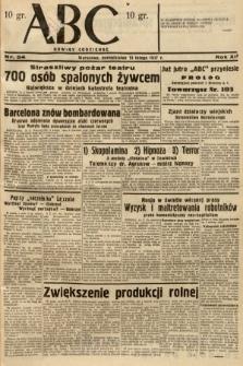 ABC : nowiny codzienne. 1937, nr54