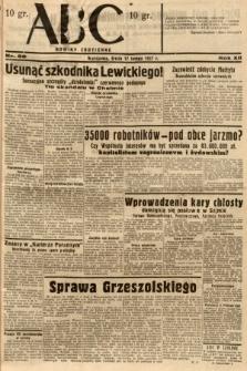 ABC : nowiny codzienne. 1937, nr56
