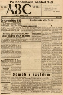 ABC : nowiny codzienne. 1937, nr63 [ocenzurowany]