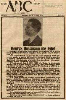 ABC : nowiny codzienne. 1937, nr66