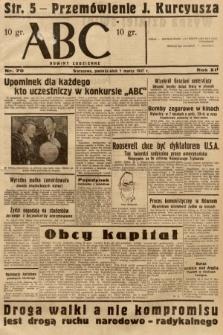 ABC : nowiny codzienne. 1937, nr70