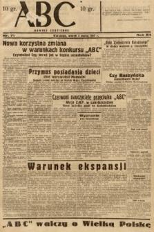 ABC : nowiny codzienne. 1937, nr71