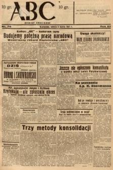 ABC : nowiny codzienne. 1937, nr76