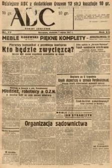 ABC : nowiny codzienne. 1937, nr77
