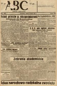 ABC : nowiny codzienne. 1937, nr80