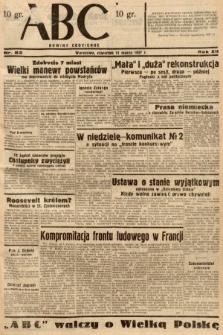 ABC : nowiny codzienne. 1937, nr82