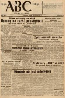 ABC : nowiny codzienne. 1937, nr83